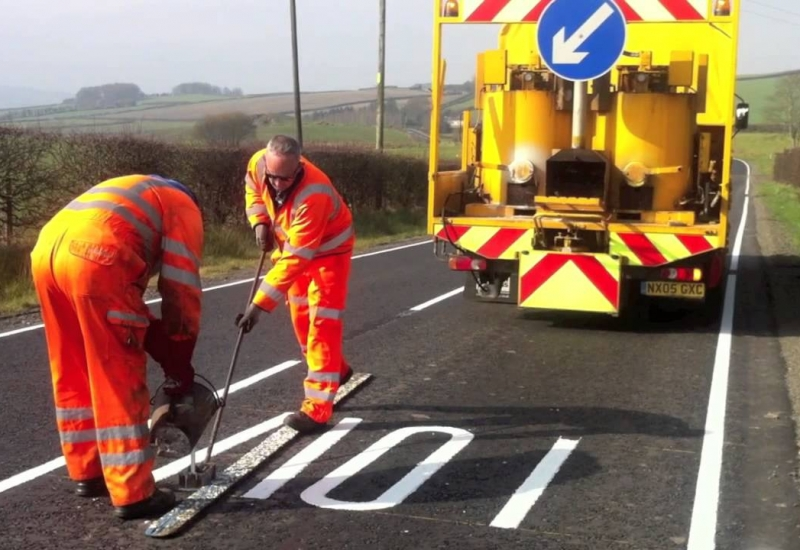 road-marking-road-painting-works